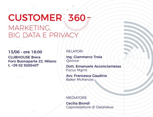 Customer 360 – Marketing, Big Data e Privacy